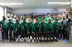 South African U18 men's football team