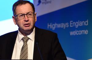 Jim O'Sullivan, Highways England's Chief Executive