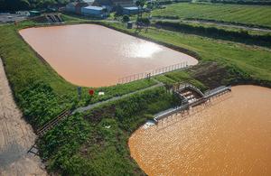 Saltburn mine water treatment scheme