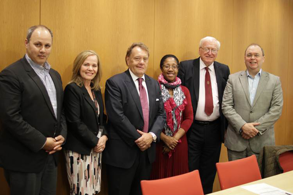 John Hayes with Education Advisory Group