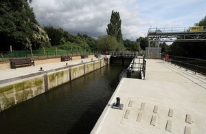 East Farleigh Lock improvements