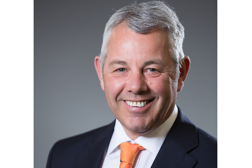 Image of Alan Cumming, Highways England new Non-Executive Director