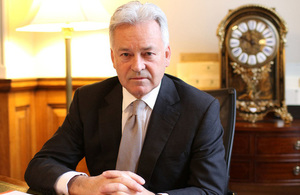 Minister for Europe and the Americas, Sir Alan Duncan