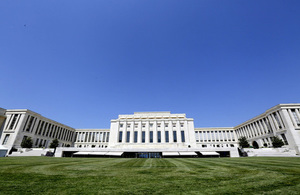The UNCTAD Trade and Development Board takes place at the Palais des Nations in Geneva