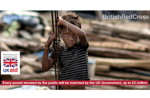 UK Aid Match for the British Red Cross Hurricane Irma appeal.
