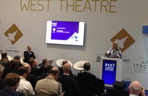 Defence Minister Harriett Baldwin today announced some of the latest developments in UK defence innovation at the Defence and Security Equipment International Exhibition in London (DSEI 2017).