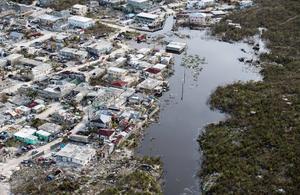 Turks and Caicos Islands after Hurricane Irma