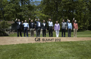 G8 leaders at the 2012 Summit