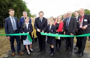 The A21 improvements officially opened
