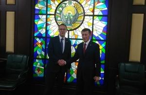 Sir Simon McDonald met Deputy Foreign Minister Mr Anvar Nasirov