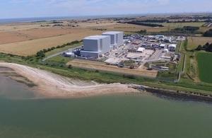 Bradwell nuclear site, Essex