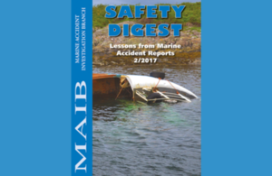 Front cover of safety digest 2/17