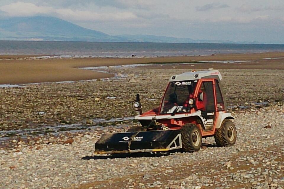 Beach monitoring near Sellafield