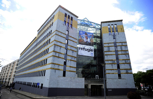 UNHCR's headquarters are in Geneva.