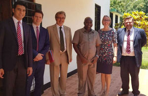 Lord Clive Hollick's visit to Tanzania
