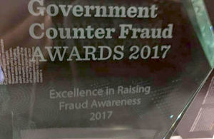 fraud award