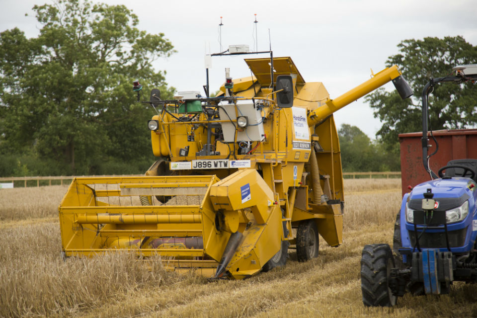 Automated harvester