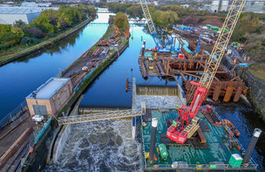 50 million flood defence scheme opens in Leeds
