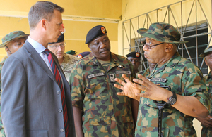UK Minister for the Armed Forces Mark Lancaster visited Nigeria this week, marking the strong defence relationship between the two nations.
