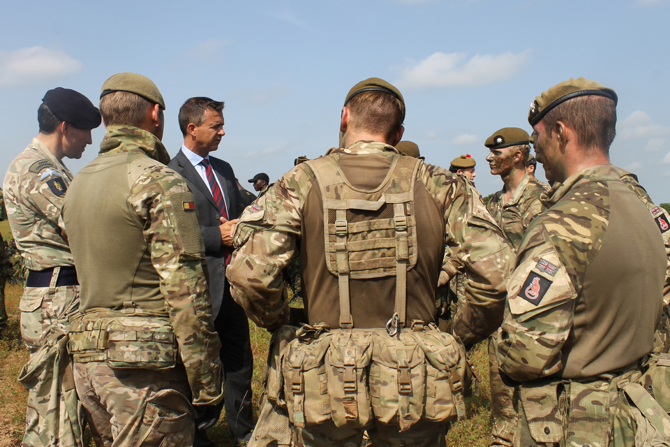 The UK shares a deep and long-standing Defence partnership with Nigeria, and over 40 UK personnel are deployed on an enduring basis in country to coordinate training and advisory support.