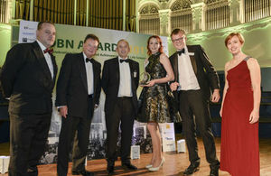 Innovate UK receive the Highest Impact Investor award at the OBN Awards 2017