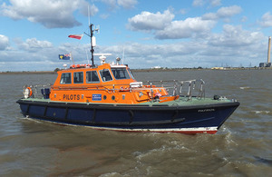 Photograph of pilot transfer vessel Patrol