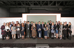 North West awards ceremony