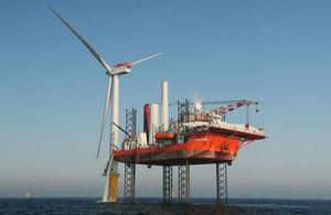 Offshore wind farm construction
