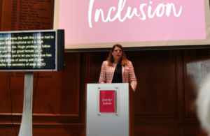 Caroline Nokes speaking at Diversity and Inclusion launch