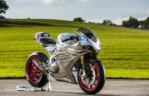 A Norton motorcycle