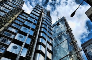 Lloyds building London by Mariarno Mantel