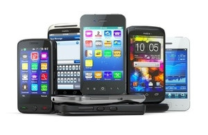 generic image of mobile phones