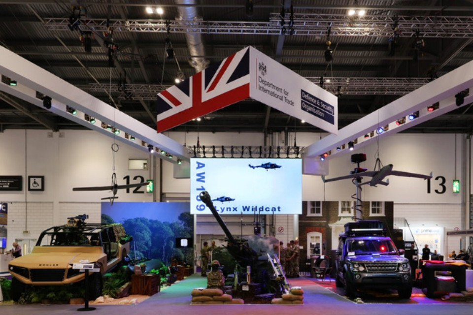 Exhibition Stand In Uk : Defence and security exporting event and exhibition support gov
