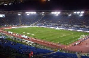 Rome football stadium