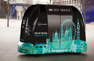 TRL driverless pod