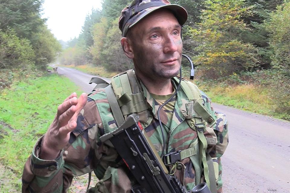 1st Lieutenant Pavel Popovici