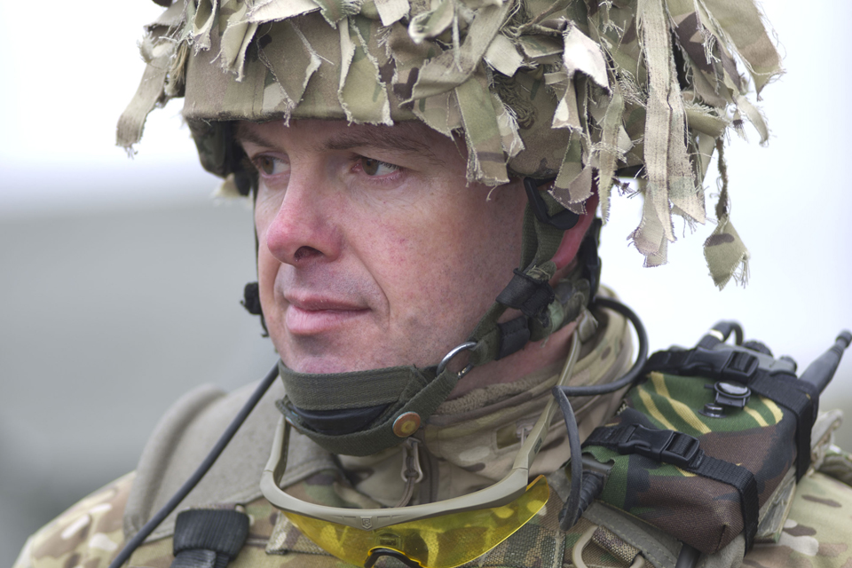 Lieutenant Colonel Neil Unsworth
