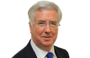 Secretary of State for Defence Sir Michael Fallon.