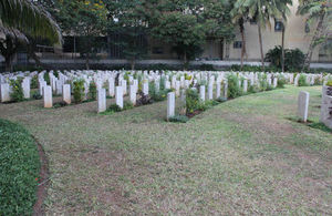 Dar es Salaam Commonwealth graves