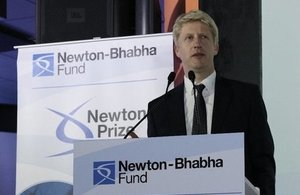 Science Minister announces winners of Newton Prize