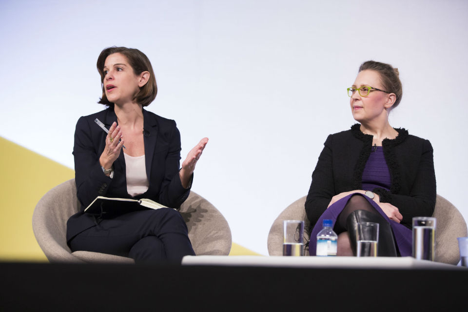 Elspeth Finch, Indigo& and Tera Allas, McKinsey Global Institute, at Innovate 2016