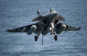 French fighter jet (stock image) [Picture: Jacques Tonard, Copyright Marine Nationale]