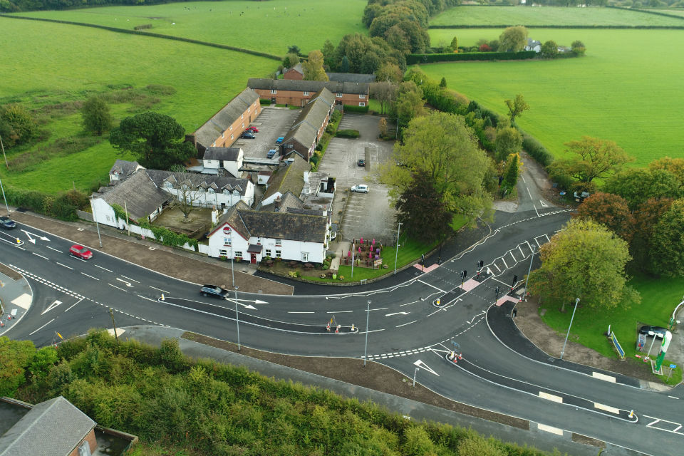 image showing Bucklow Hill and Mere junctions
