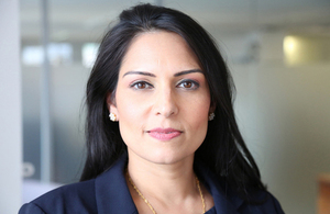 Secretary of State for International Development Priti Patel