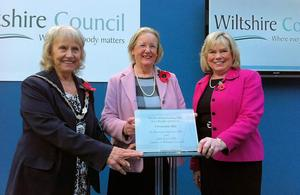 Wiltshire County Hall opening