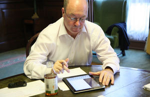 Alistair Burt at a previous Twitter Q & A