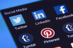 Social media screen