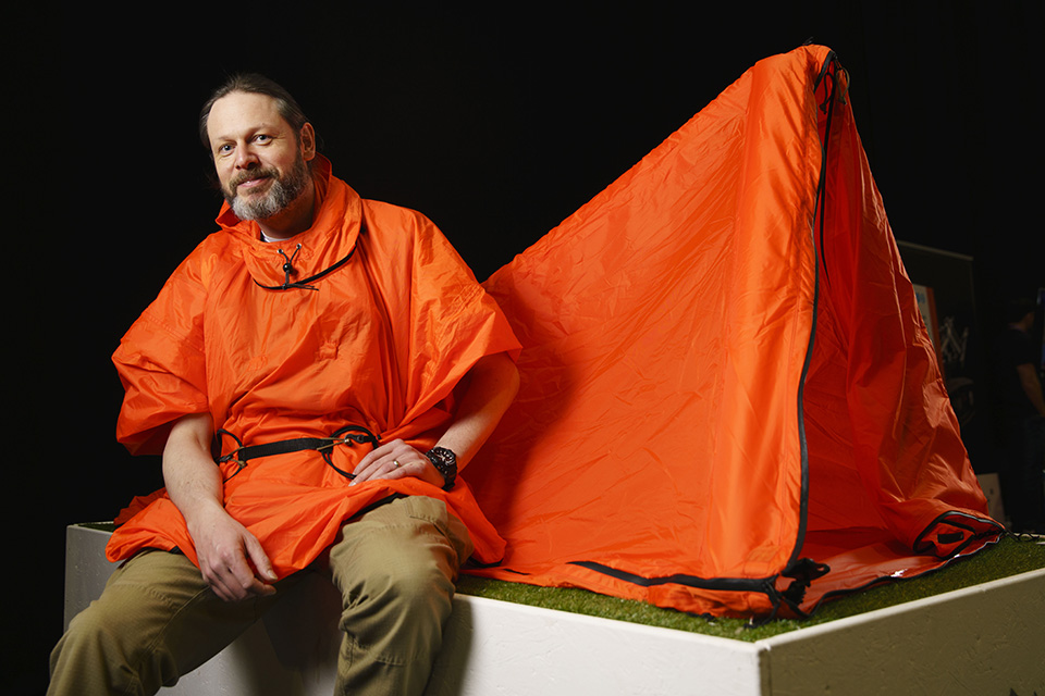 Zelter Shelter's wearable tent