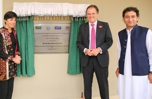 UK Minister for Asia and the Pacific Mark Field visits Mardan to see UK support for Pakistan