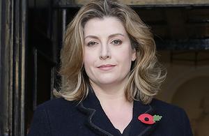 Rt Hon Penny Mordaunt MP, Secretary of State for International Development.